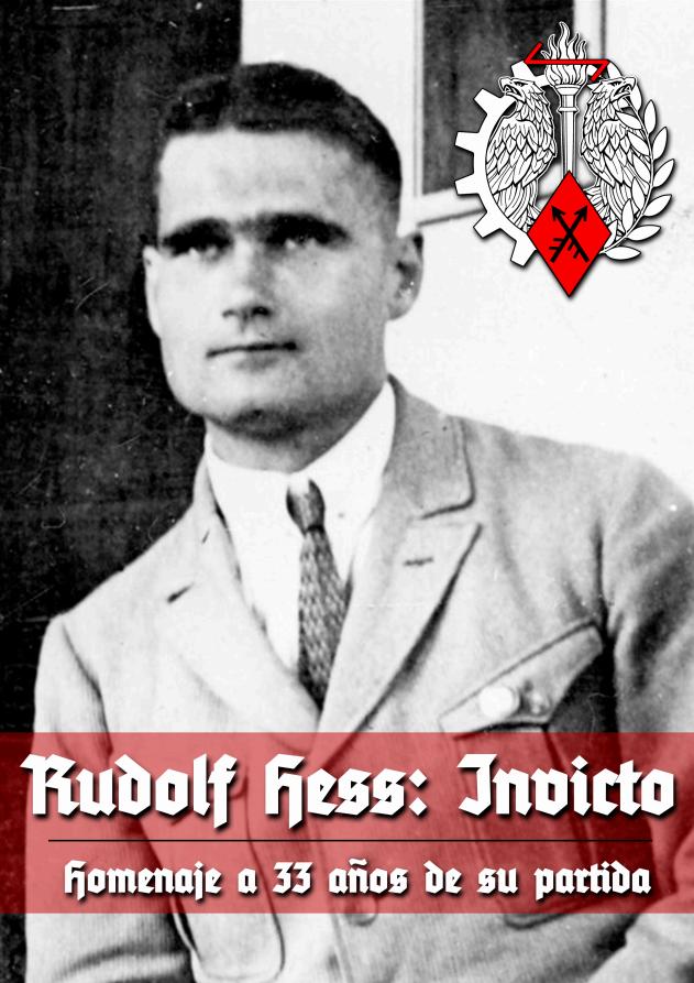 Rudolf Hess_Devenir Europeo